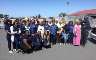 VMMC working with community groups in the Cape Flats